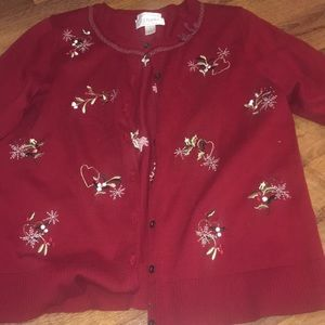 CJ and Banks Christmas sweater in EUC in size X